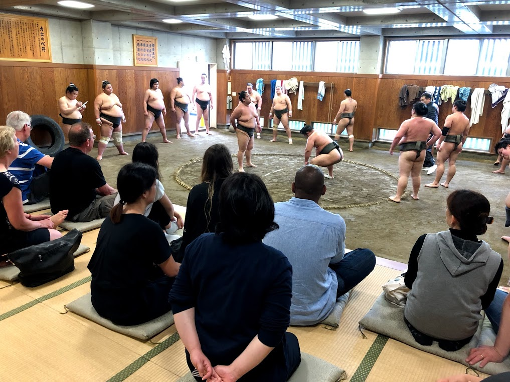Morning Practice Tour Sumoexperience